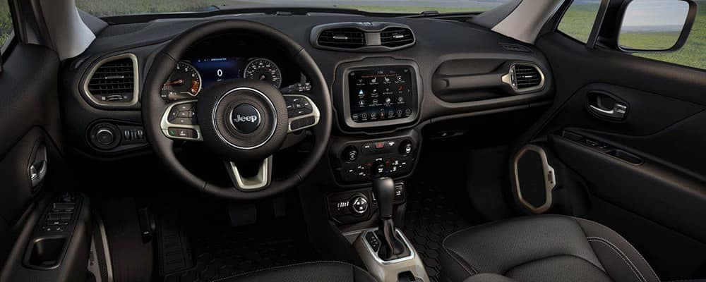 2018 Jeep Renegade Dashboard