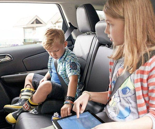 2018 Dodge Journey Interior with Children