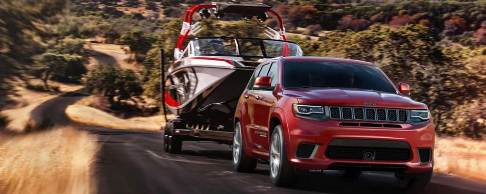 2018 Jeep Grand Cherokee Towing Boat