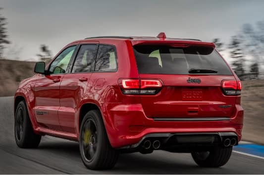 2018 Jeep Grand Cherokee Quad Exhaust