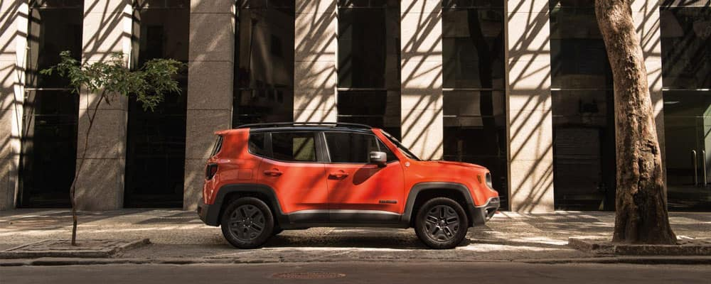 2018 Orange Jeep Renegade Outdoors