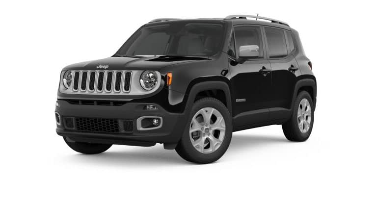 2018 Jeep Renegade Limited White Background