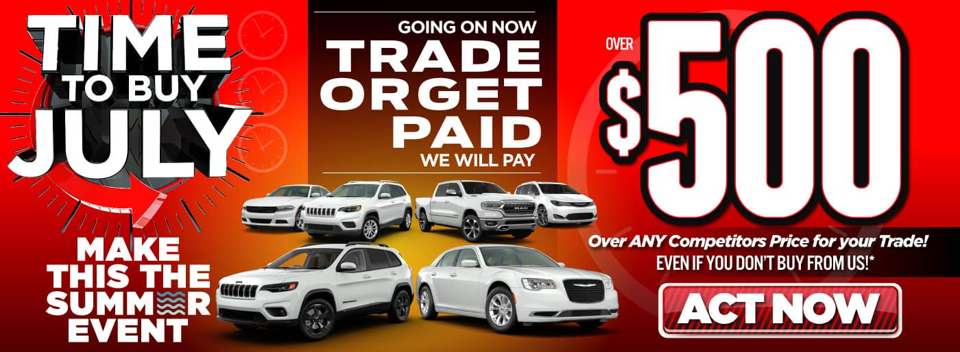Trade or get paid   Act Now
