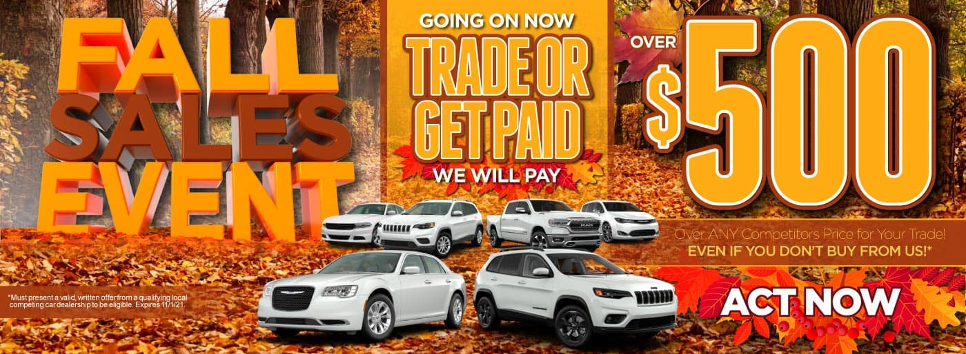 Trade or get paid | Act Now