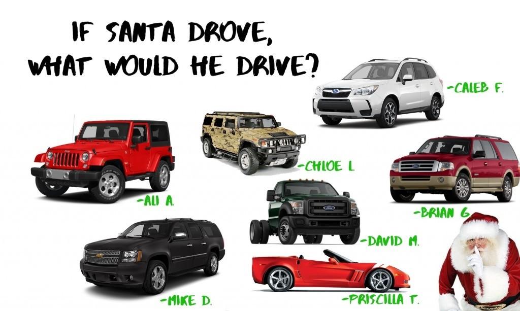 what would santa drive