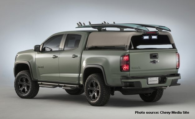 Chevy Clothing Companies Create Cool Concept Trucks - Cool car companies