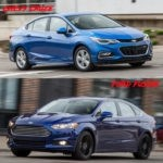 chevy cruze vs ford fusion