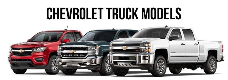 2017 Chevrolet Models