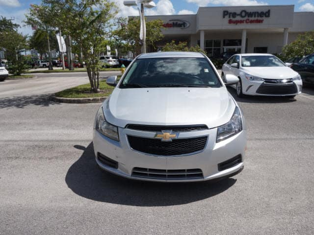 used chevy cruze lt