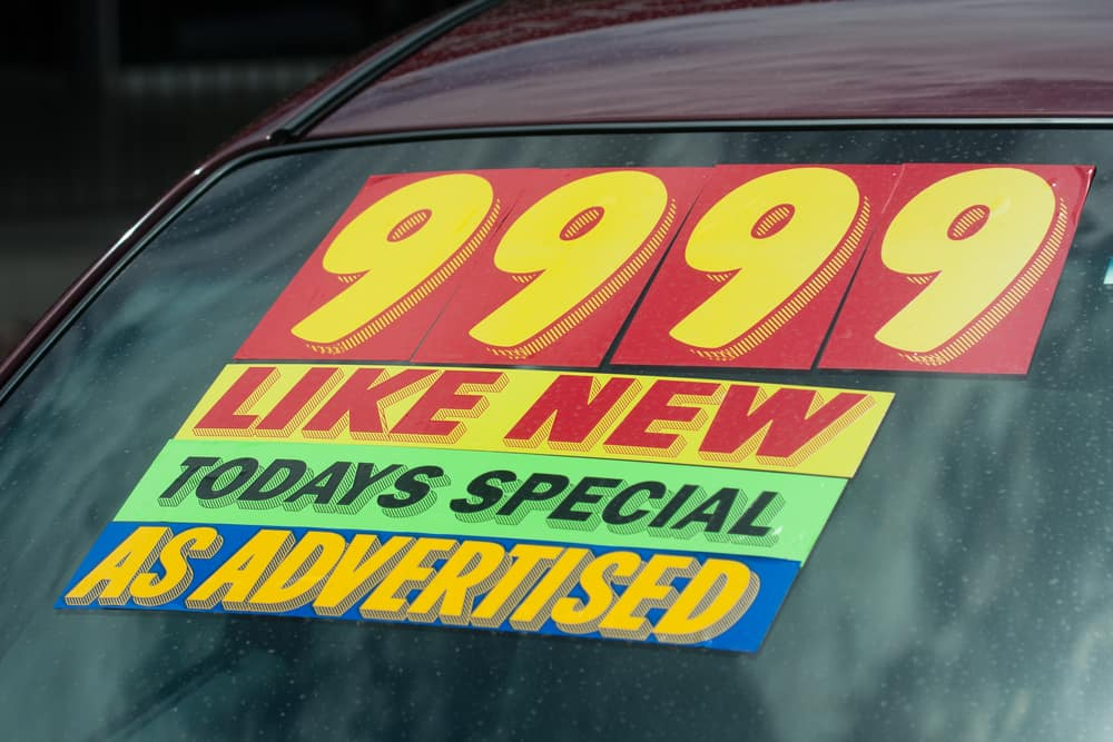 used car dealer vs private seller drivers auto mart