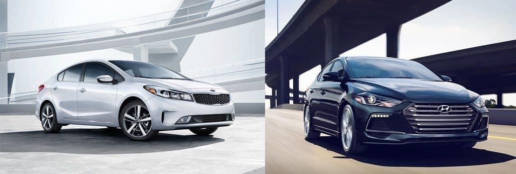 Drivers Auto Comparison Kia Forte Hyundai Elantra