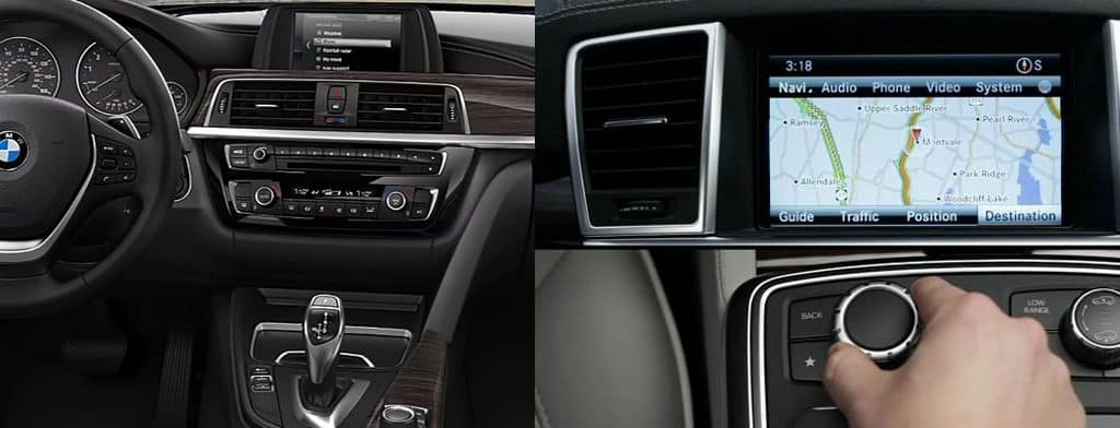 bmw and mercedes-benz infotainment systems