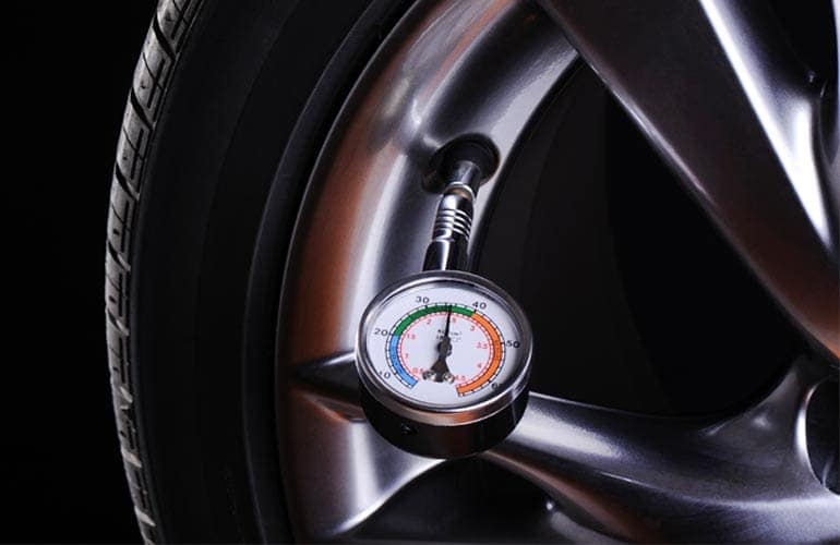 Driver's Auto Mart Tire Pressure Gauge