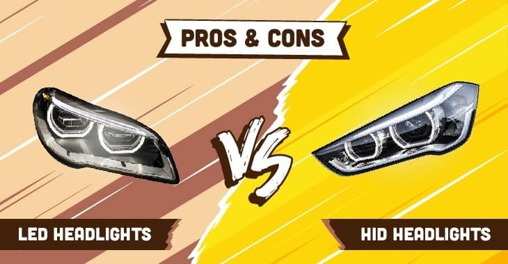 led vs hid headlights drivers auto mart