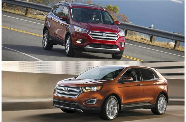 Ford Edge Vs Escape >> A Battle Of Two Suvs Ford Escape Vs Ford Edge