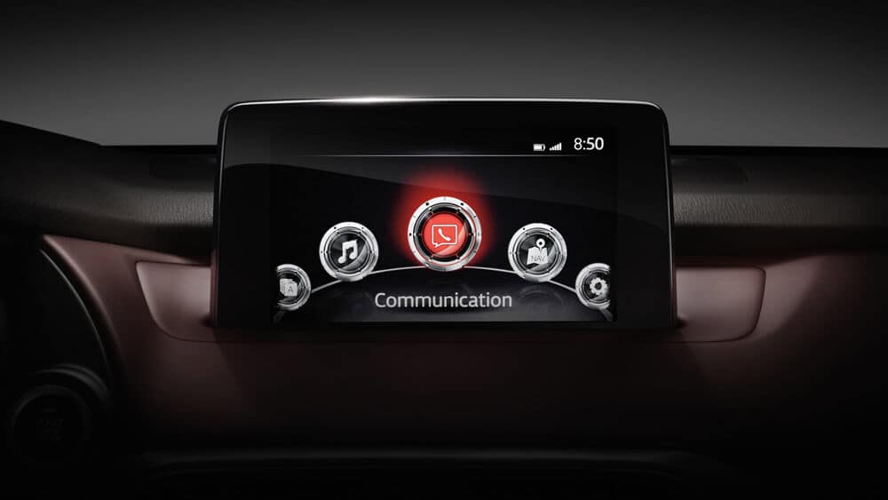 Mazda Connect Infotainment System