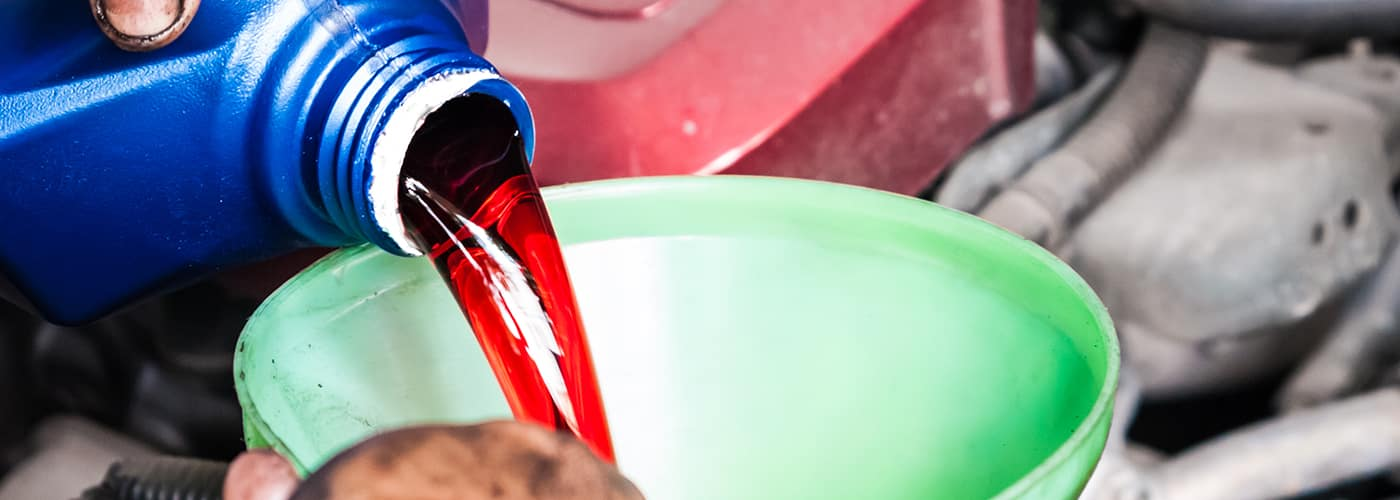 how to check transmission fluid