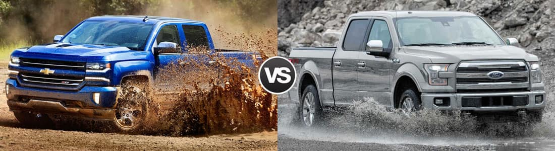Compare 2017 Chevy Silverado 1500 Vs Ford F 150 Freeland