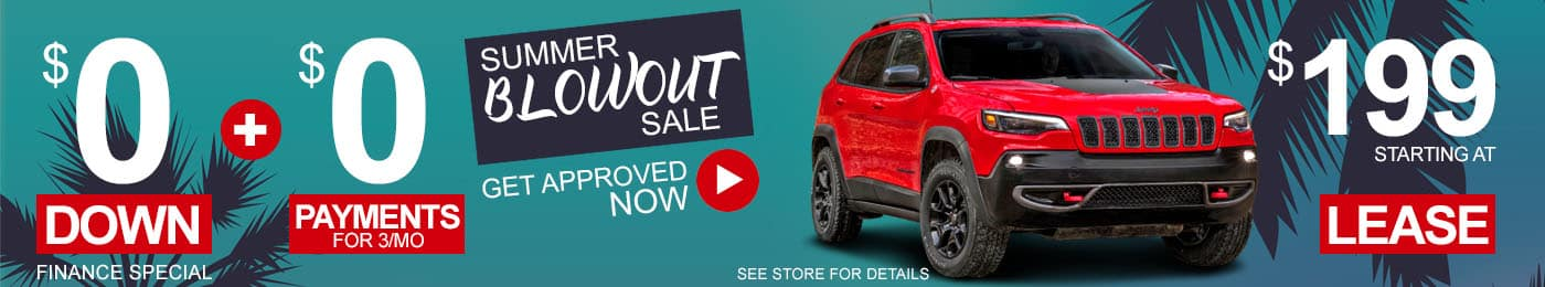 Jeep Cherokee Sale