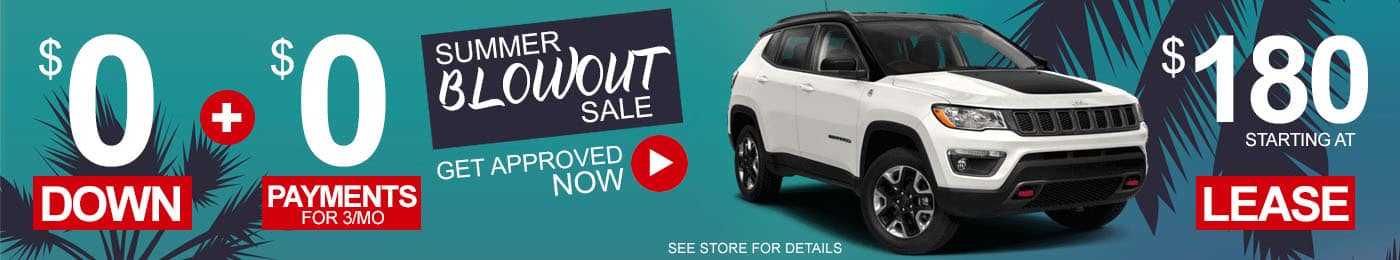Jeep Grand Compass Sale