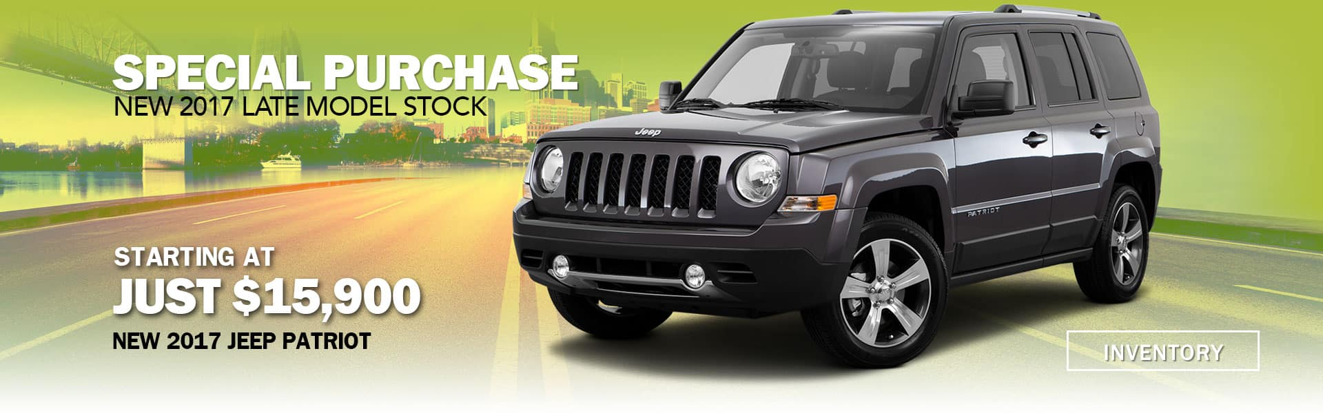 jeep patriot 2017 special