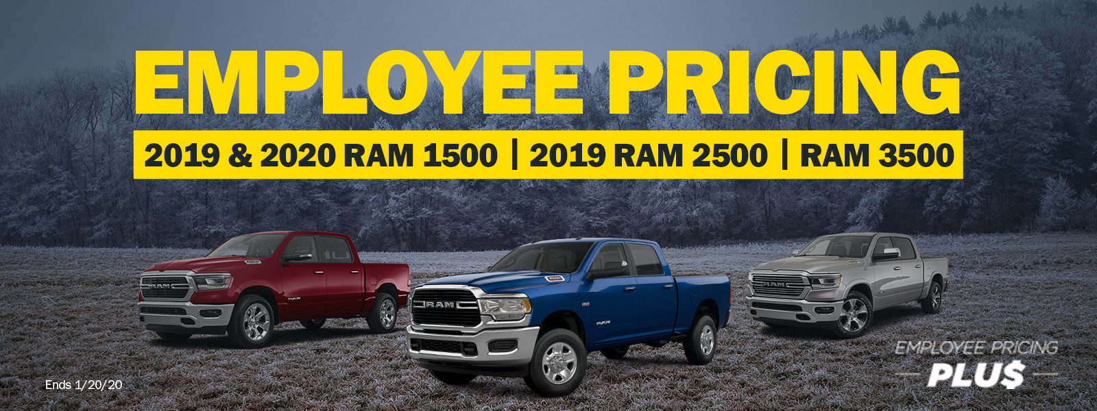 RAM Employee Pricing