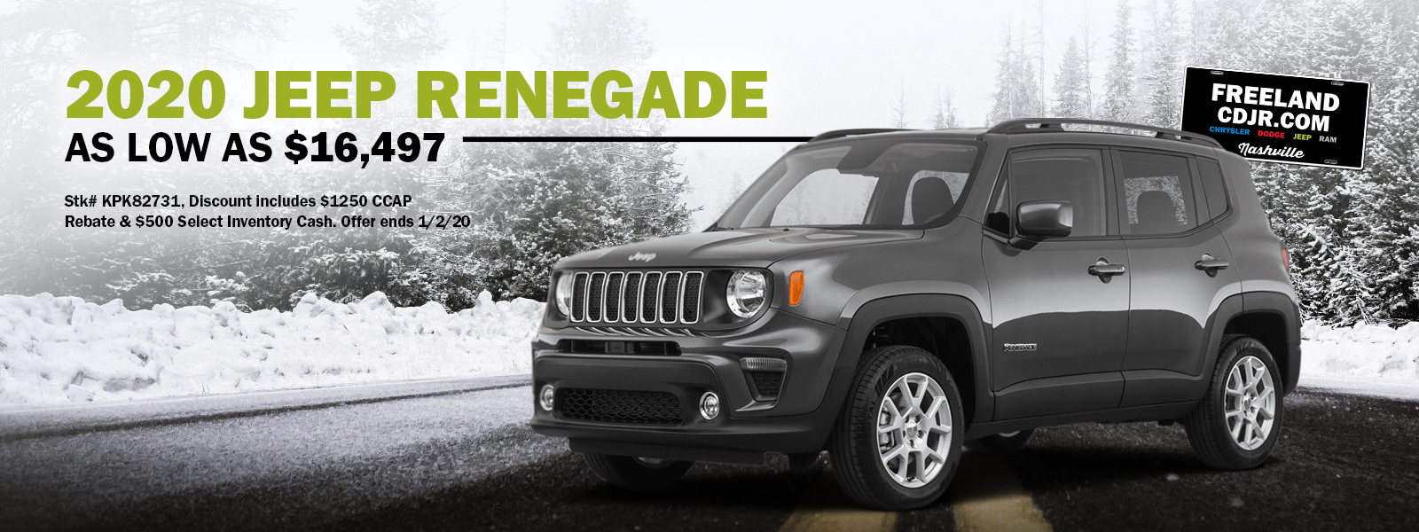 low priced jeep renegade