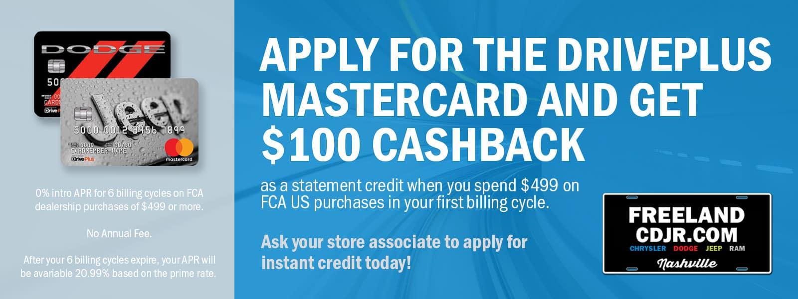 FCA Credit Card
