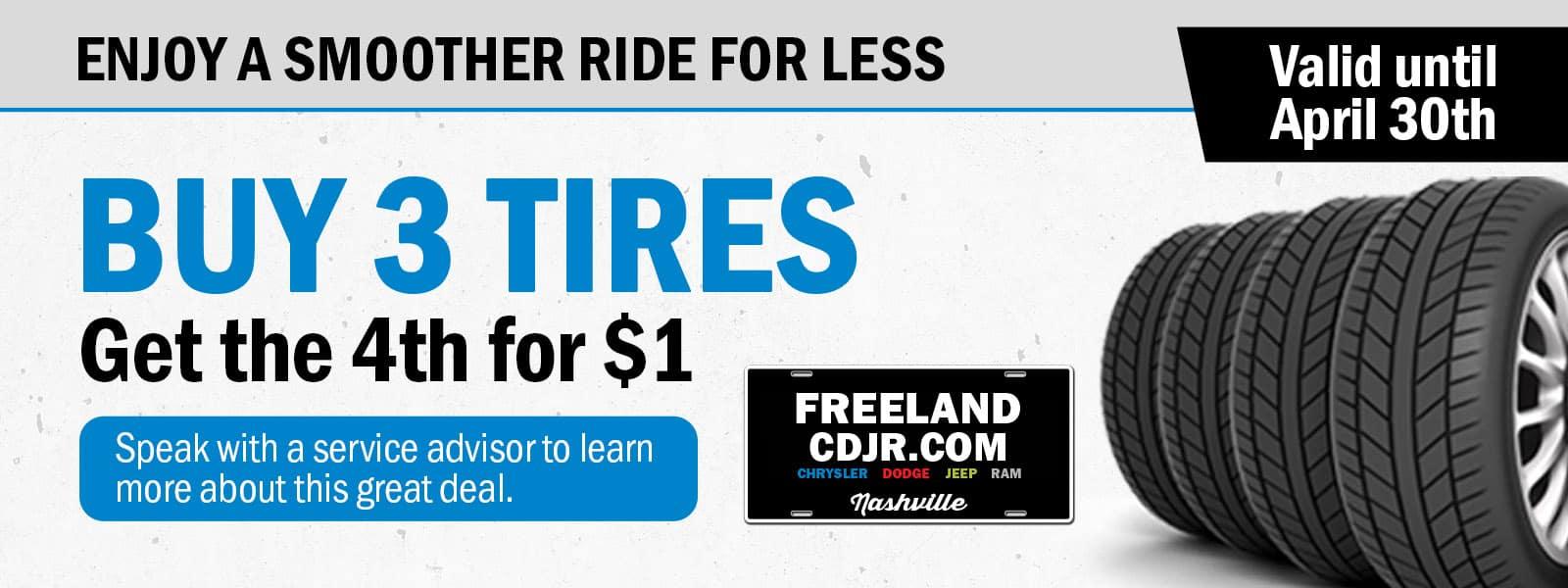 CDJR Tire Special