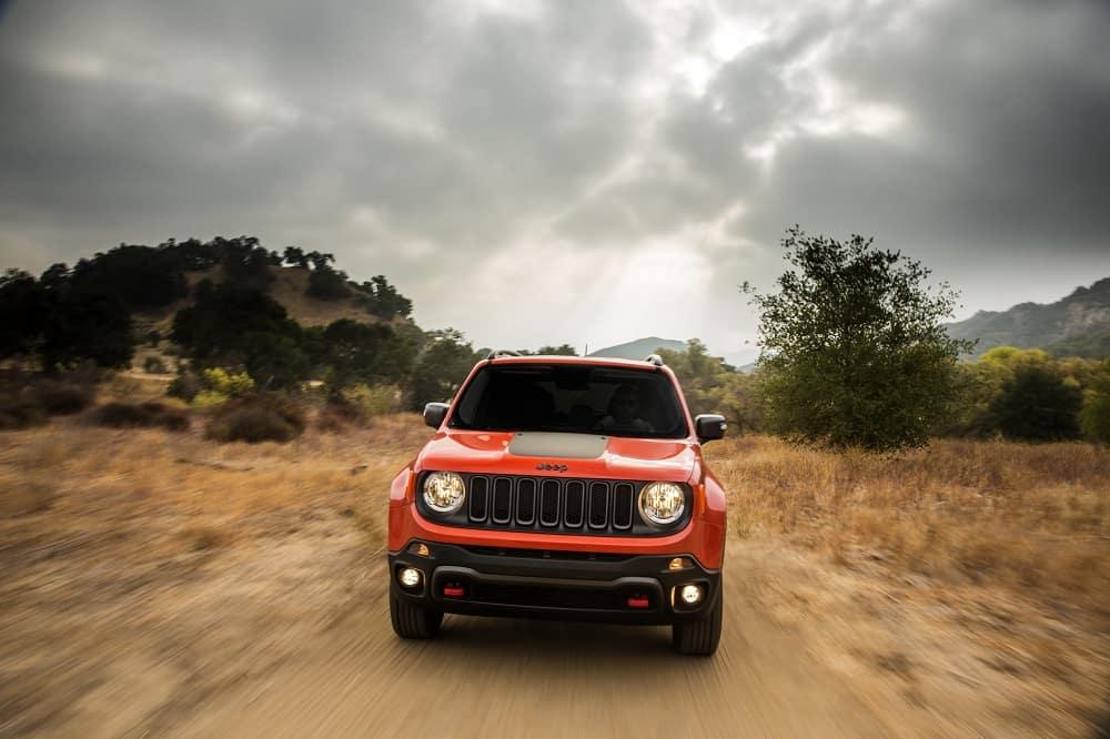 2016 Jeep Renegade Orange