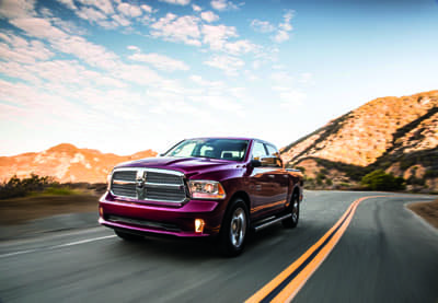 2018 Ram 1500 Cherry Red
