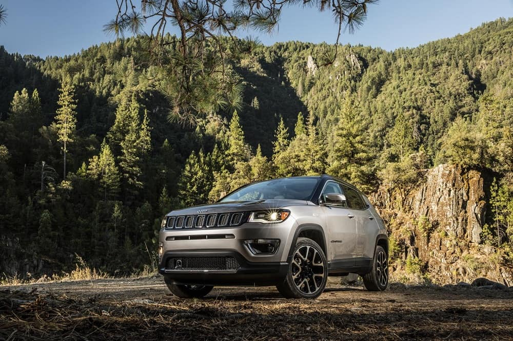 2018 Jeep Compass Silver