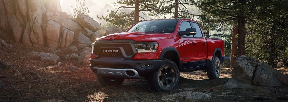2019 Ram 1500 Pulse Red