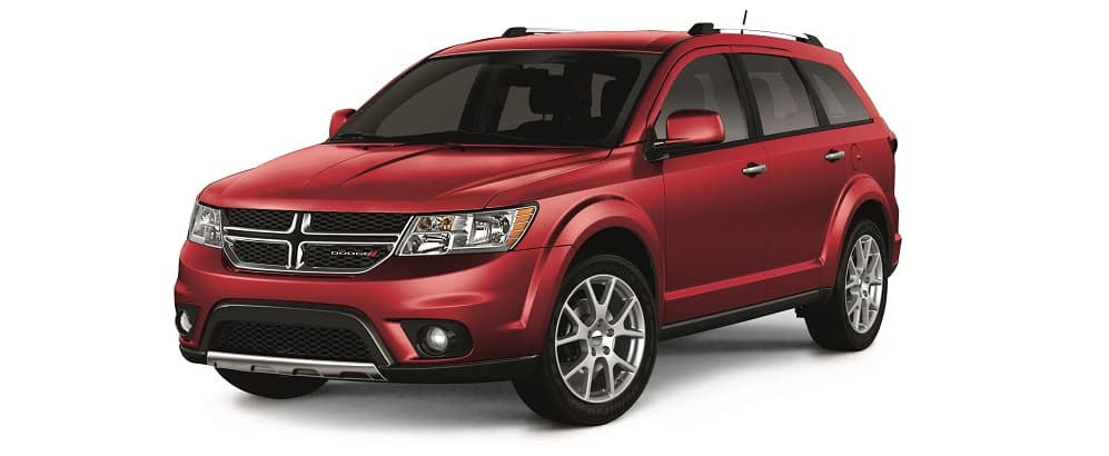 2018 Dodge Journey Red