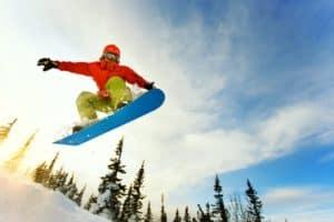 Snowboarding near Penn Yan, NY