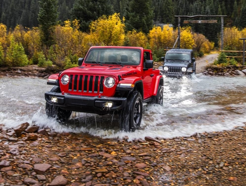 Jeep Wrangler Off-Roading Features