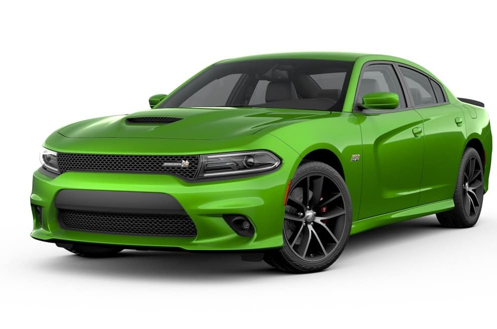 Charger RT Scat Green
