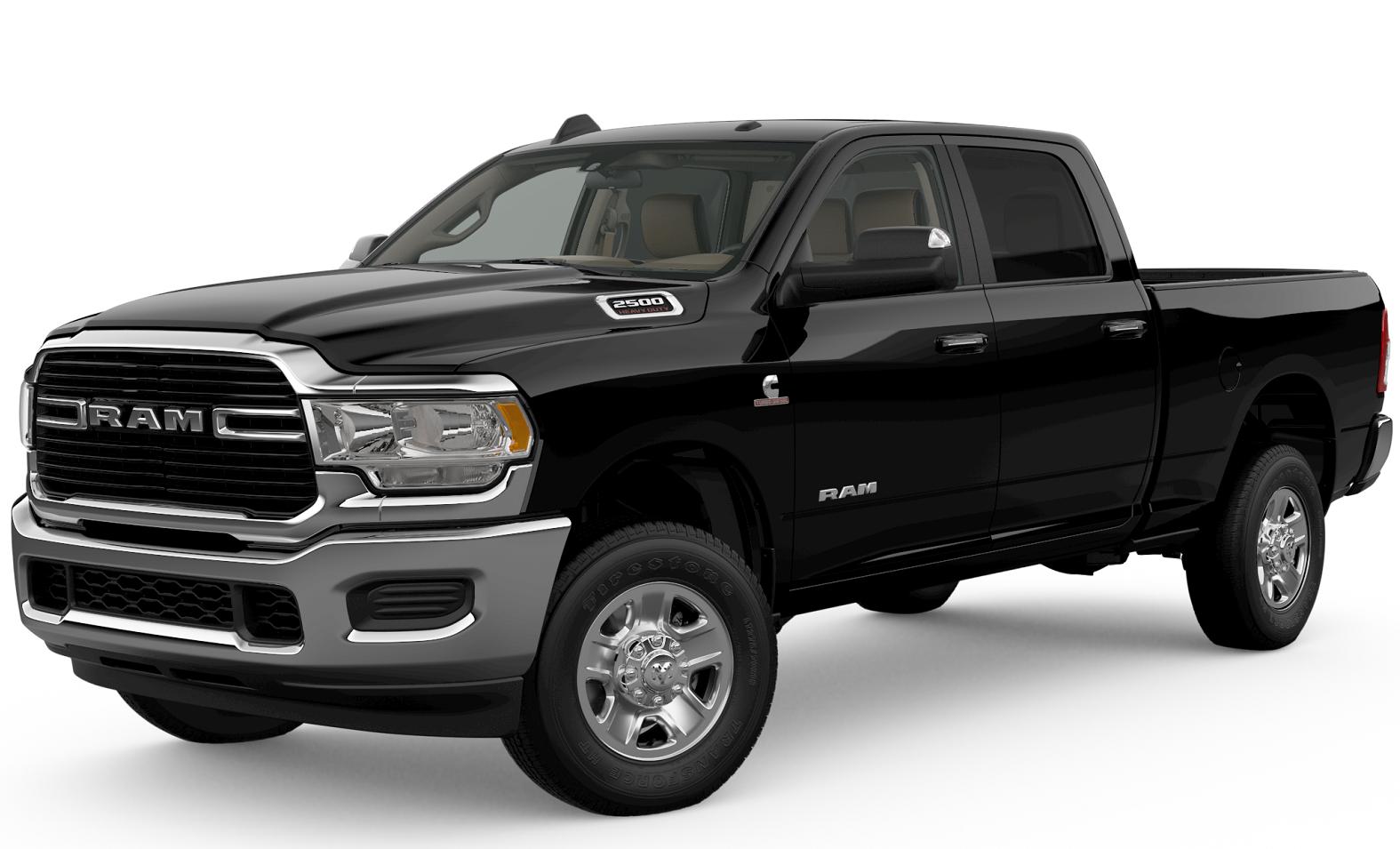 2019 RAM 2500 Black