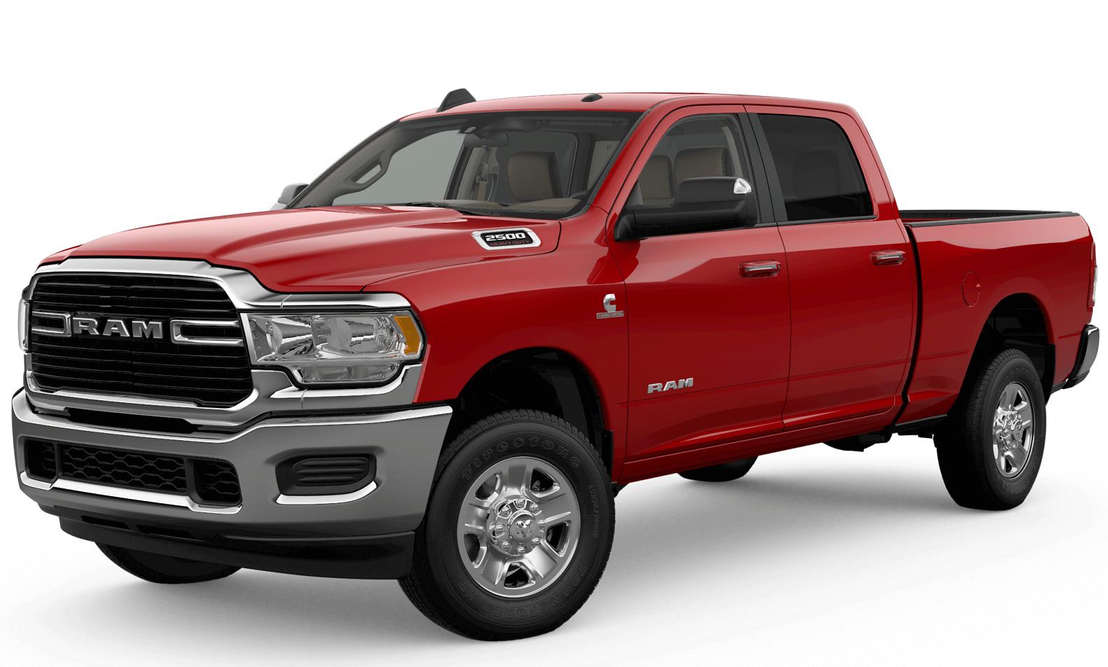 RAM 2500 Red