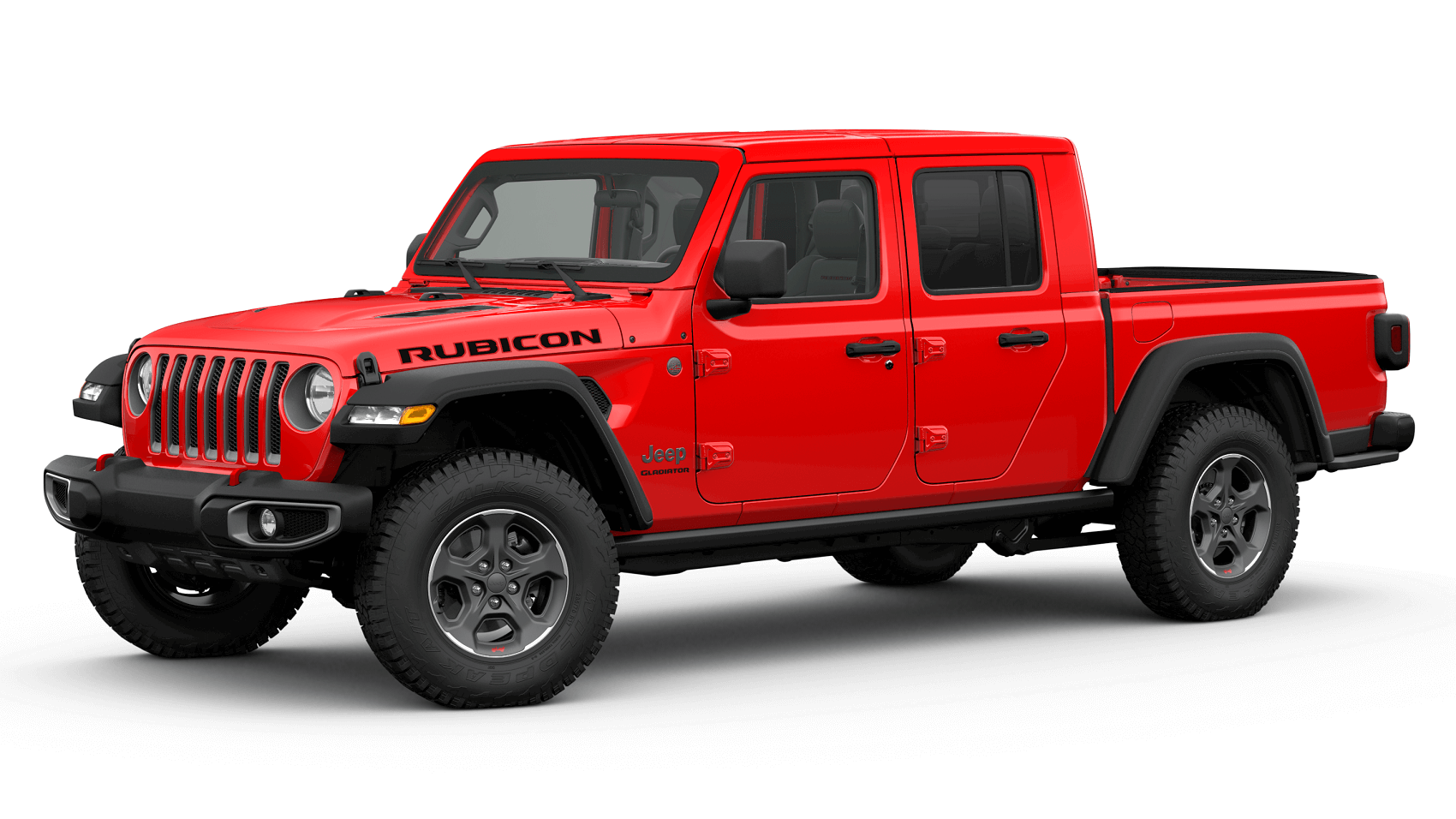 2020 Jeep Gladiator Firecracker Red