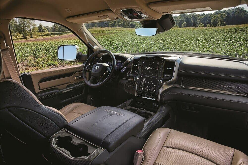 2020 Ram 5500 Interior