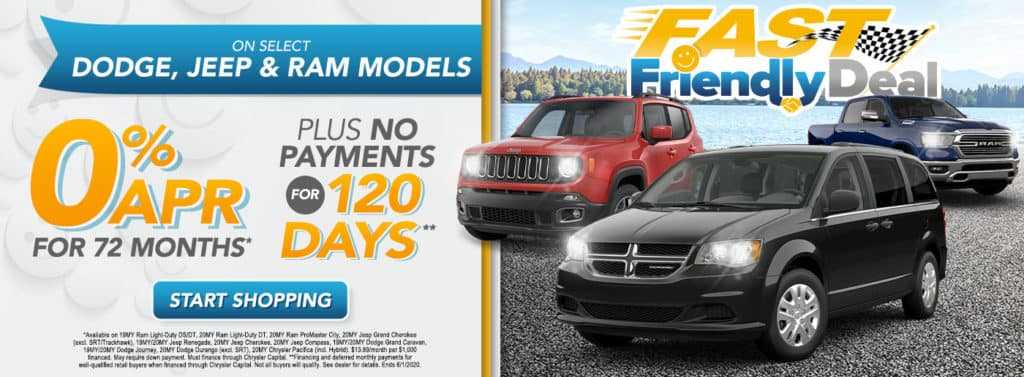 0% APR for 72 months* PLUS No Payment for 120 Days**