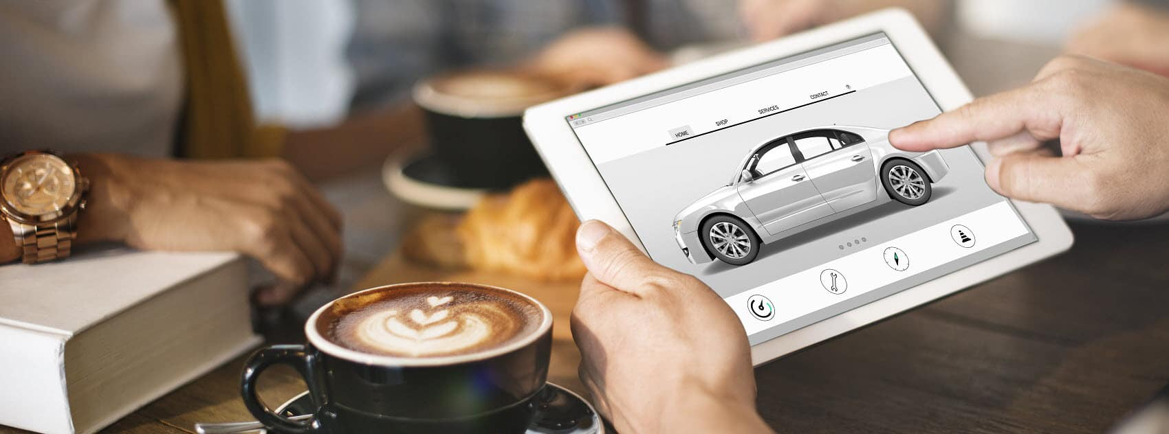 Buy your next vehicle entirely online