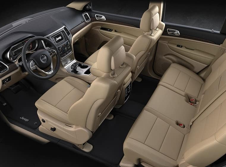 Jeep Grand Cherokee Interior Space