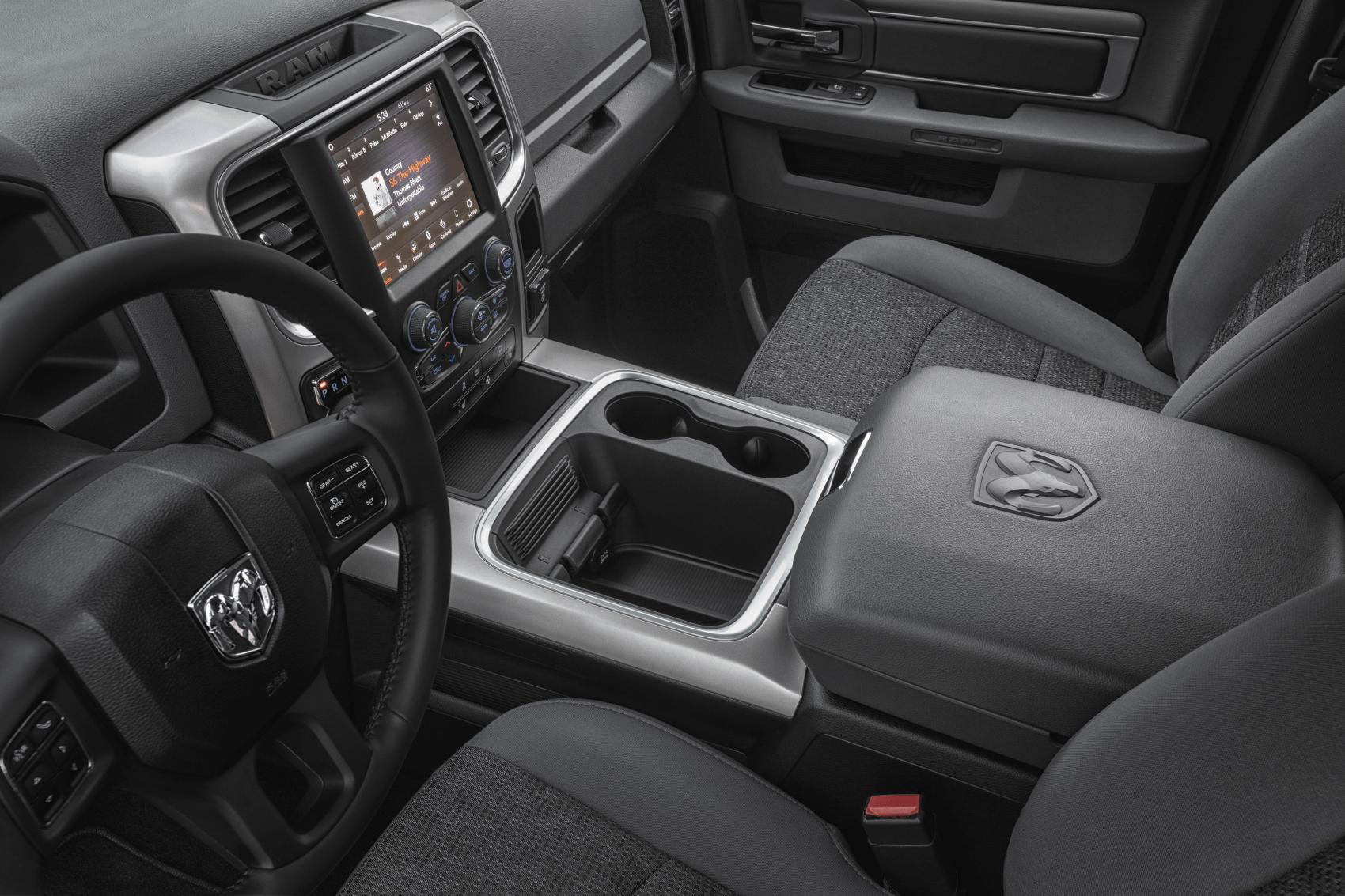 2021 Ram 1500 Interior Dashboard Technology