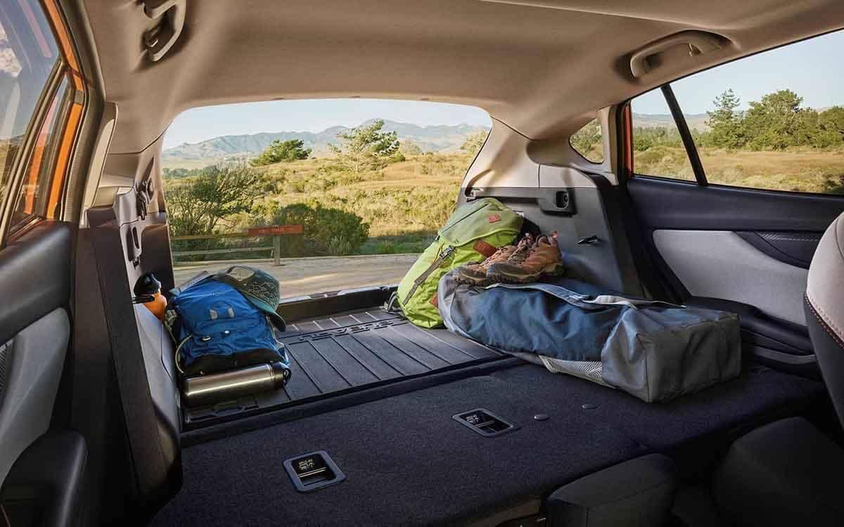 2018 Subaru Crosstrek Cargo Area