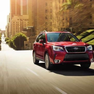 2018 Subaru Forester Exterior Driving
