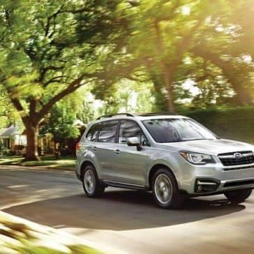 2018 Subaru Forester Exterior Driving