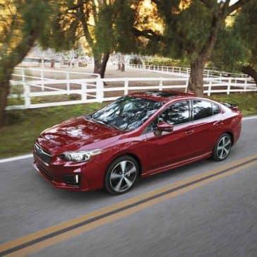 2018 Subaru Impreza Sedan Exterior Driving