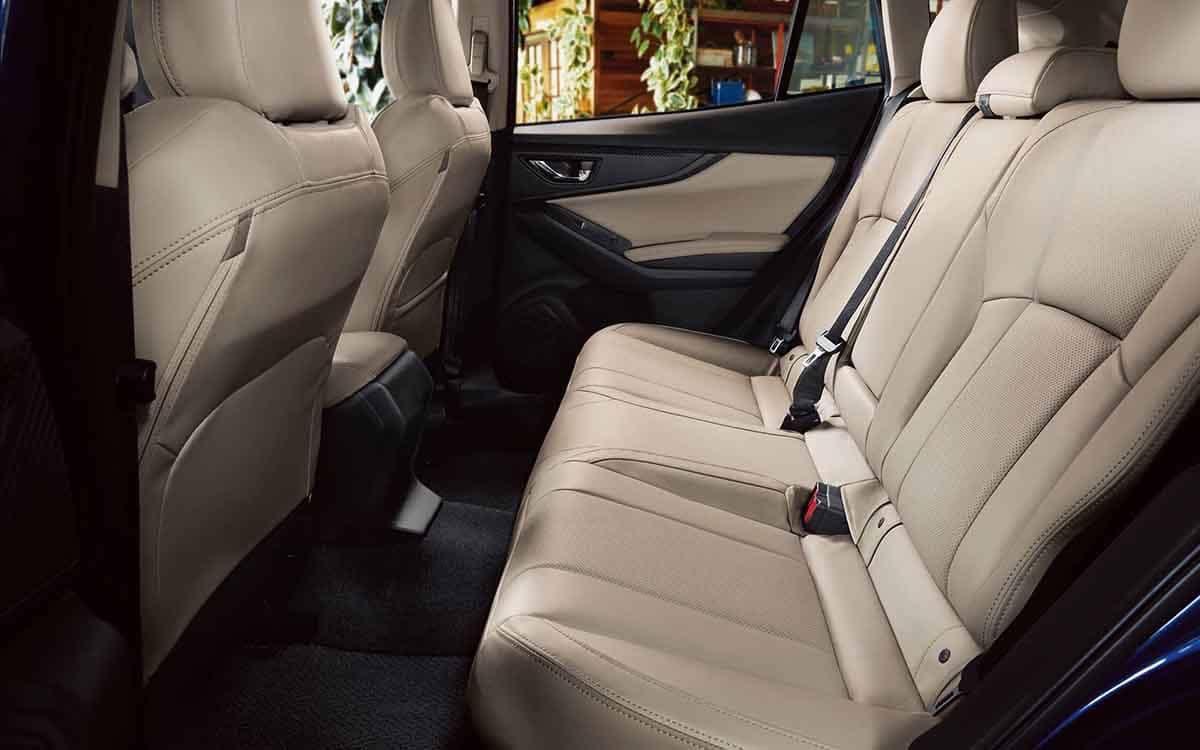 2018 Subaru Impreza Interior Seating